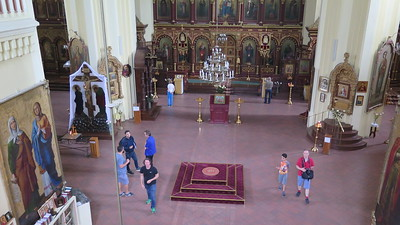 Russian orth cathedral Vilnius
