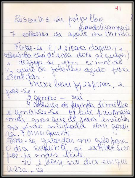 Biscoitos de Polvilho Lourdes A Sampaio