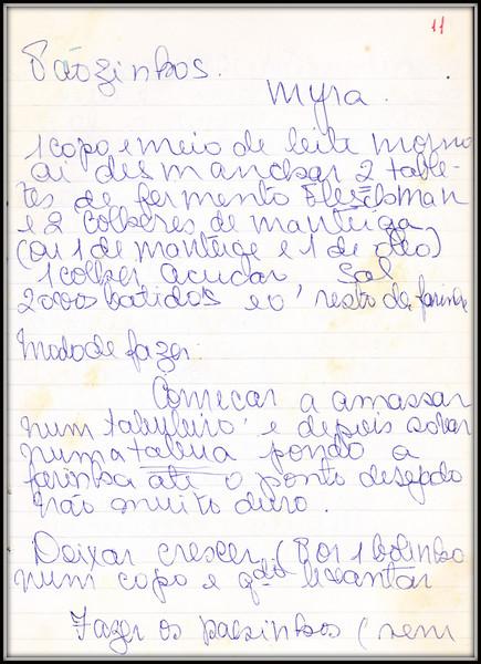 Paozinhos Myra, pagina 1