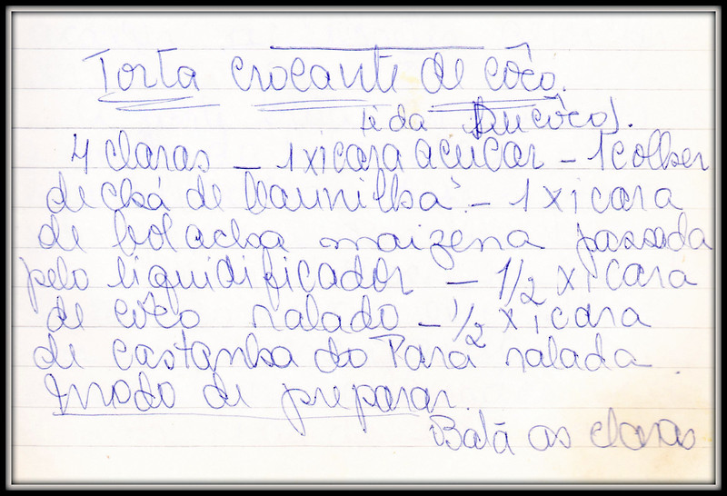 Torta Crocante de Coco, pagina 1