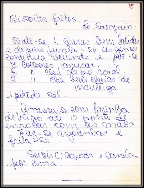 Biscoitos Fritos Lourdes A Sampaio