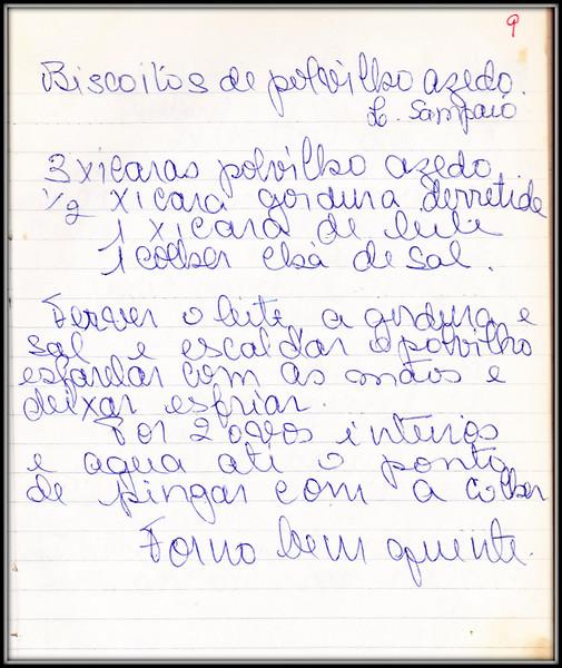 Biscoitos de Polvilho Azedo Lourdes A Sampaio