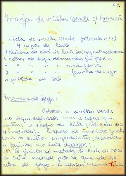 Manjar de Milho Verde com Camarao, pagina 1