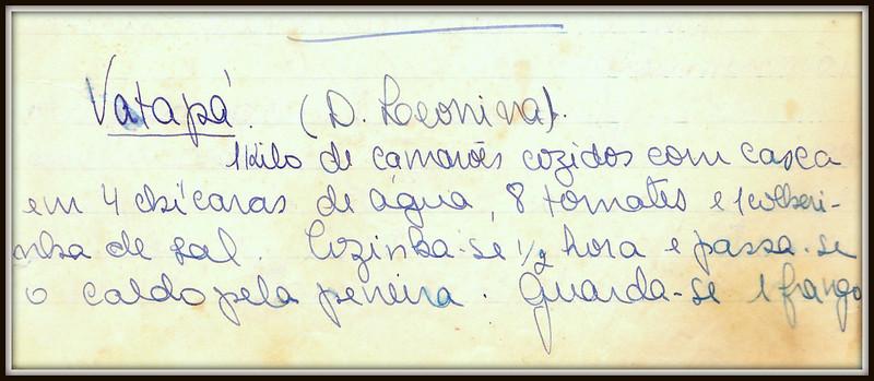 Vatapa Dona Leonina, pagina 1