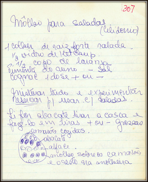 Molho para Saladas (Celidonio)
