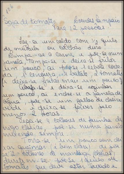 Sopa de Tomates (Lourdes Sampaio), pagina 1