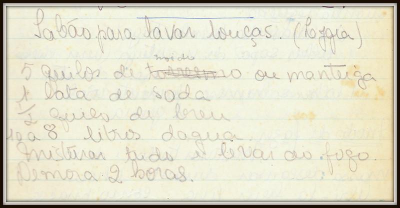 D. Carmita - Caderno de Receitas III - Salgados<br /> <br /> 1 pagina