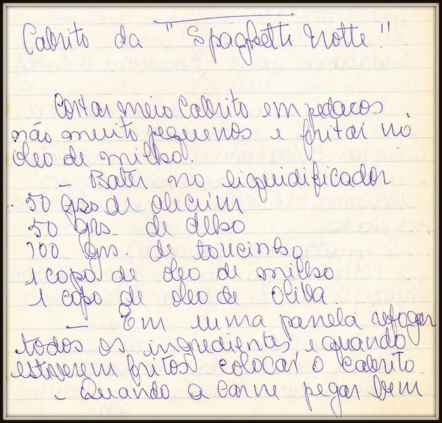 Cabrito de Spaghetti Notte, pagina 1