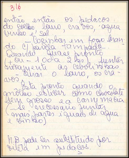 Civet de Coelho (Ana Maria), pagina 2