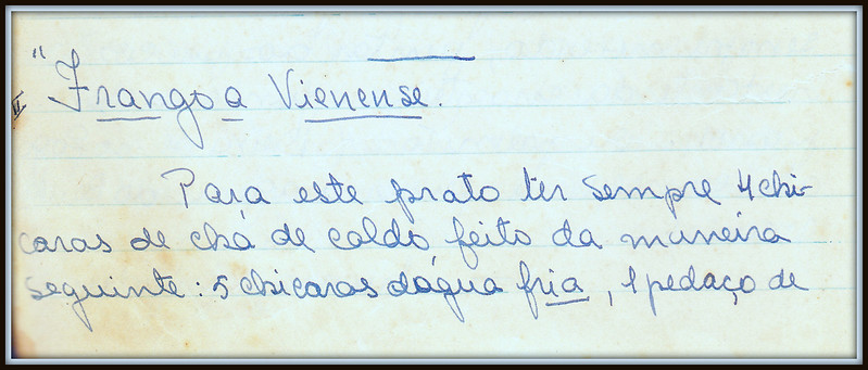 Frango a Vienense, pagina 1