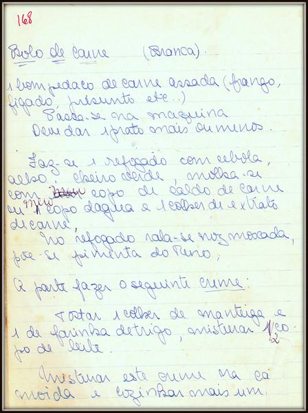 Bolo de Carne, pagina 1