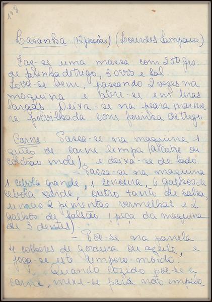 Lasanha (Lourdes Sampaio), pagina 1
