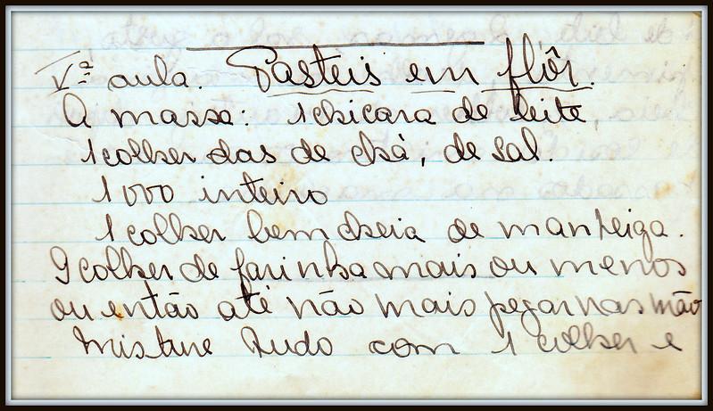 Pasteis em Flor, pagina 1