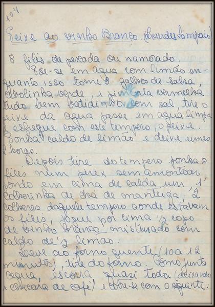 Peixe ao Molho Branco (Lourdes Sampaio), pagina 1