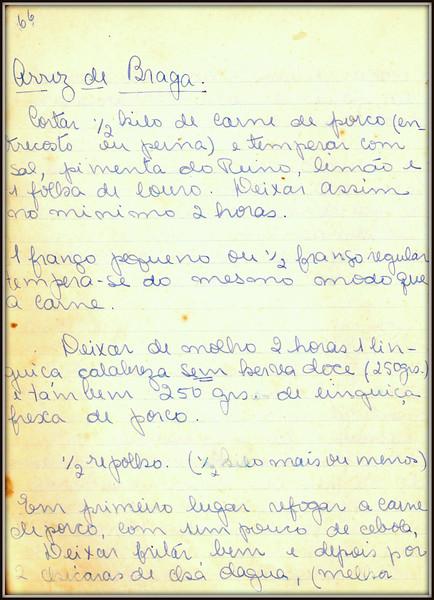 Arroz de Braga, pagina 1