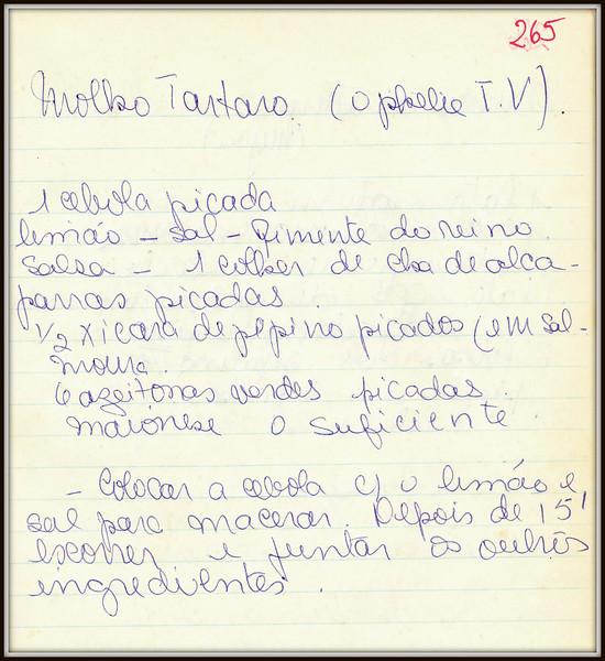 Molho Tartaro (Ophelia)