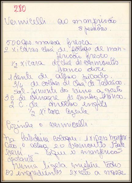 Vermicelli ao Manjericao (8 pessoas), pagina 1