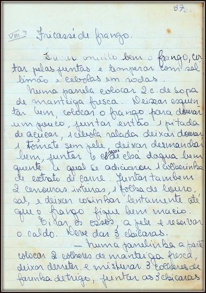 Fricasse de Frango, pagina 1