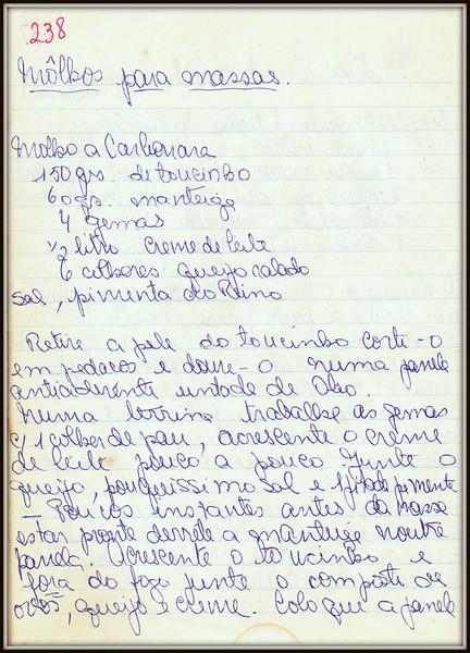 Molhos para Massas, pagina 1