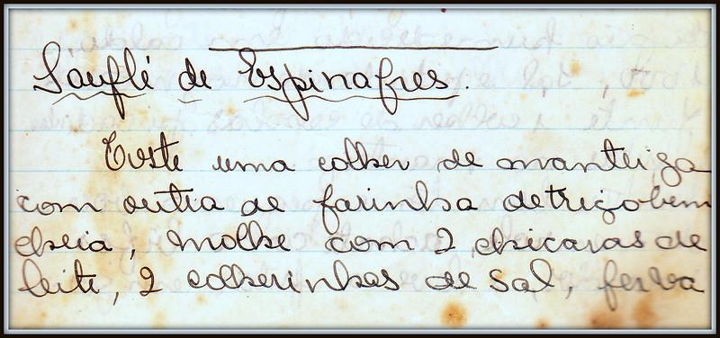 Soufle de Espinafres, pagina 1