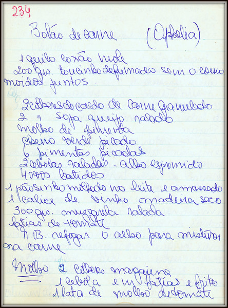 Bolao de Carne (Ophelia), pagina 1