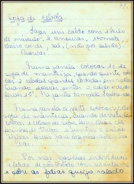 Sopa de Cebola, pagina 1