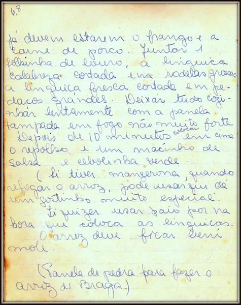 Arroz de Braga, pagina 3