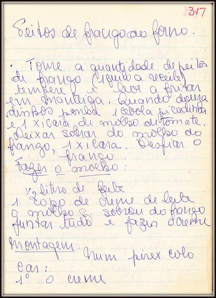 Peitos de Frango ao Forno, pagina 1