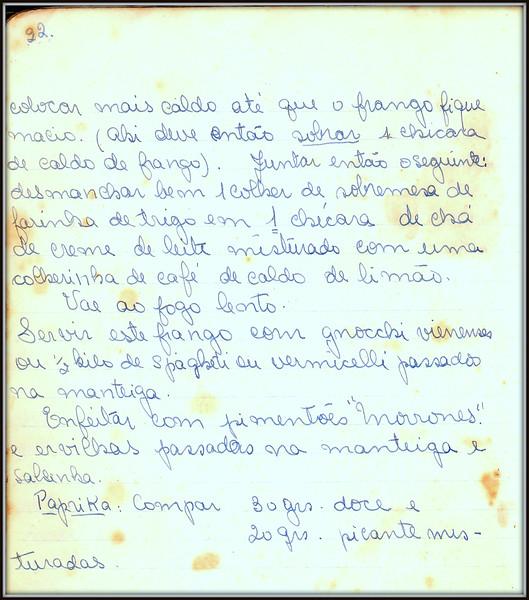 Frango a Vienense, pagina 3