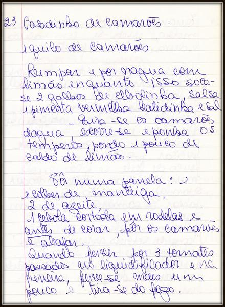 Casadinho de Camarao, pagina 1