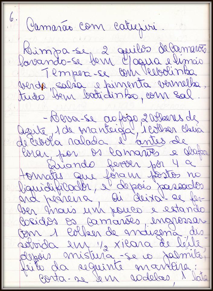 Camarao com Catupiri, pagina 1