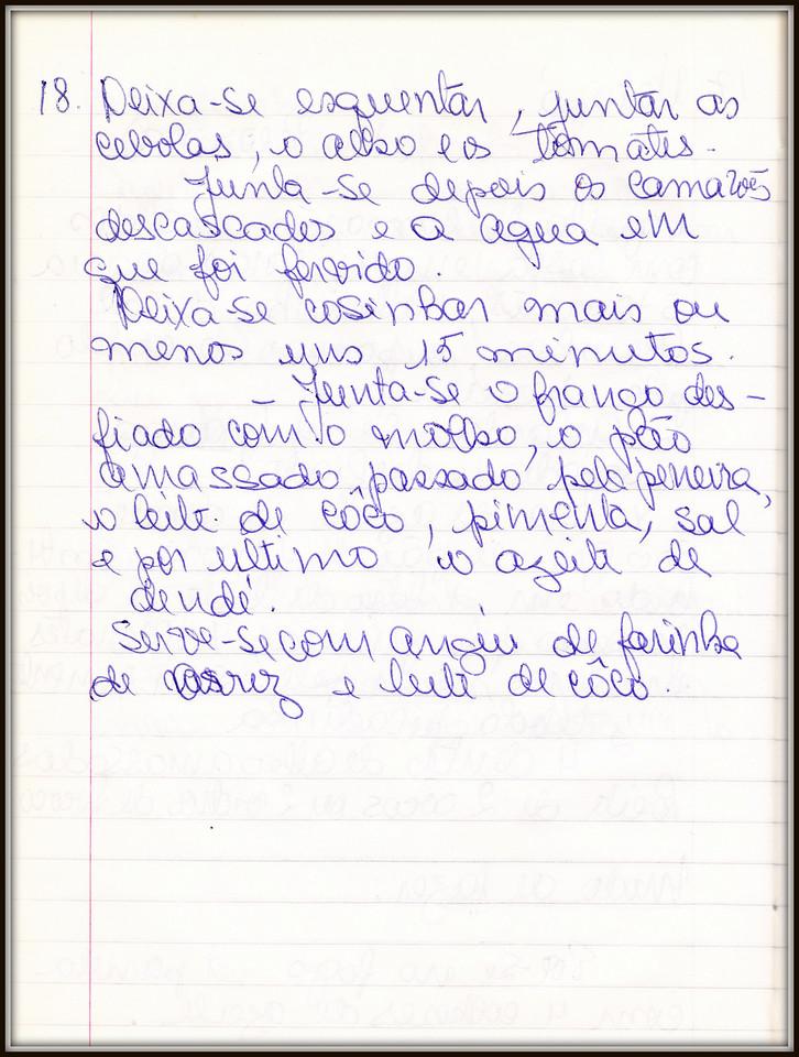 Vatapa de Camarao e Frango, Dona Leonina, pagina 2