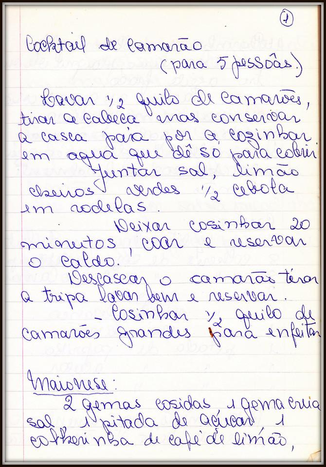 Cocktail de Camarao, pagina 1