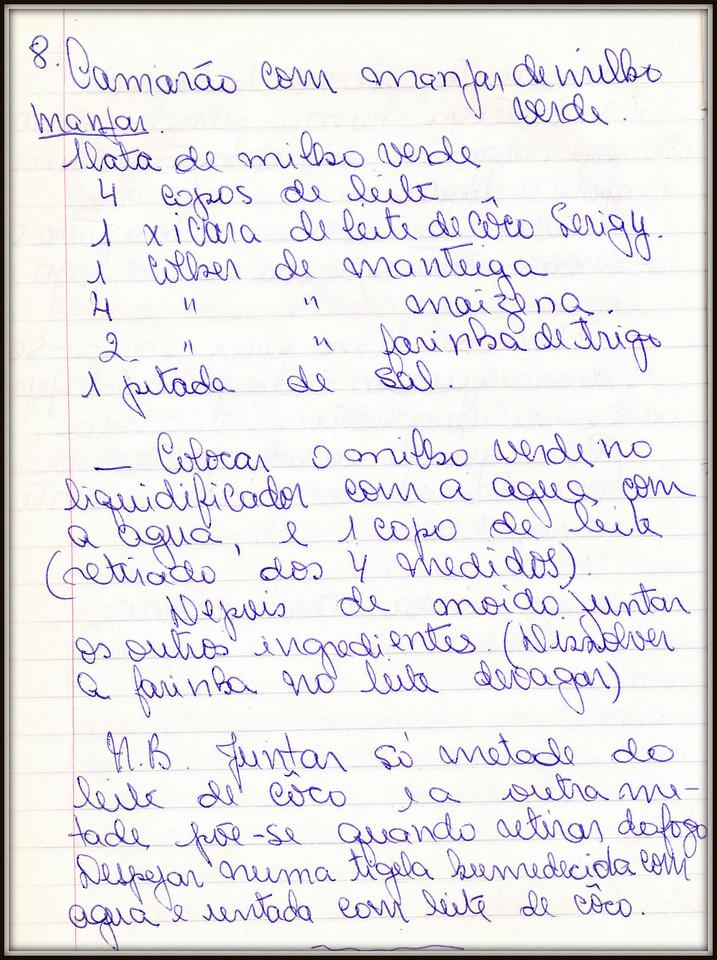 Camarao com Manjar de Milho Verde, pagina 1