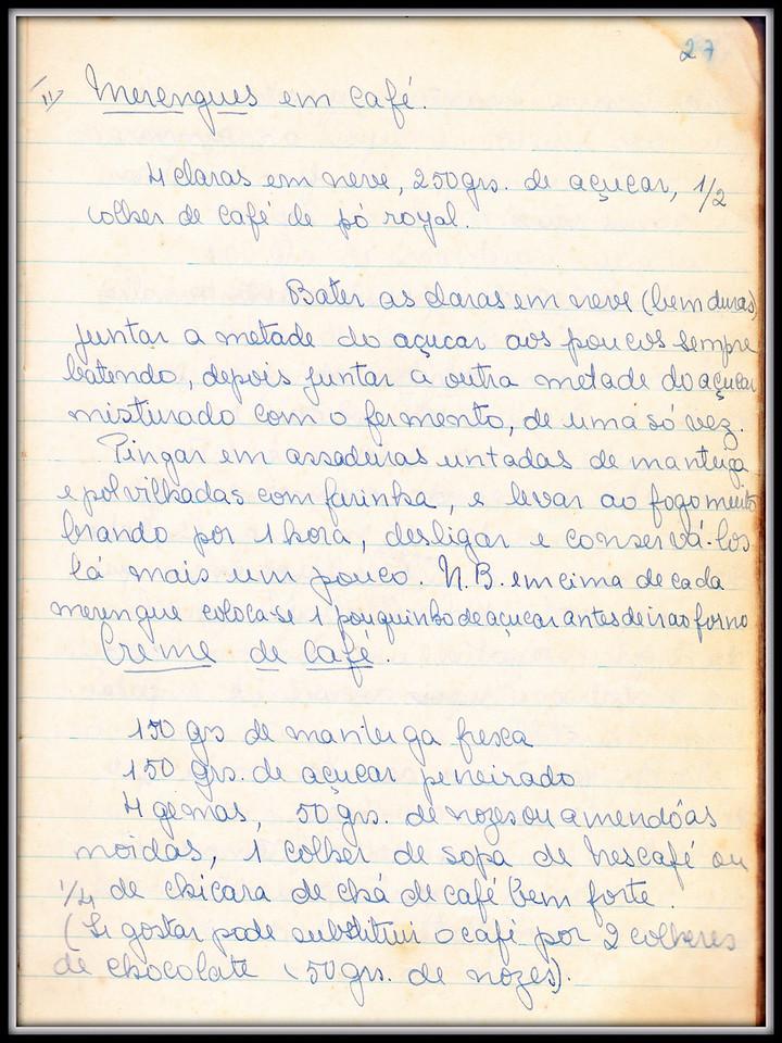 Merengues em Cafe, pagina 1