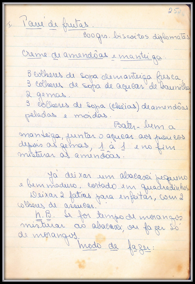 Pave de Frutas, pagina 1