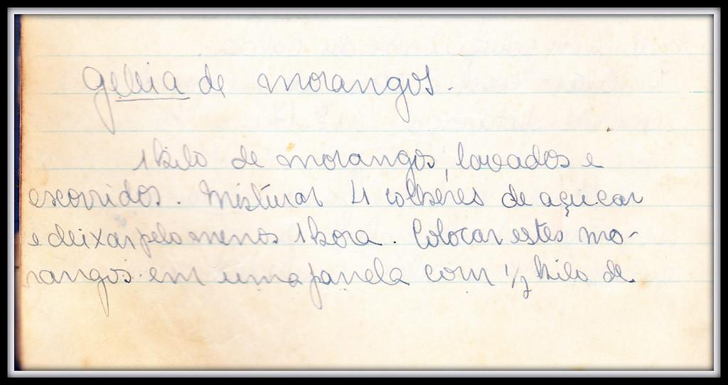 Geleia de Morangos, pagina 1