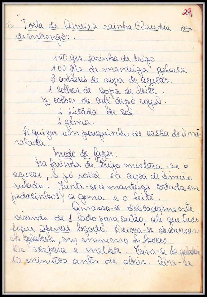 Torta de Ameixa Rainha Claudia (ou de Morangos), pagina 1