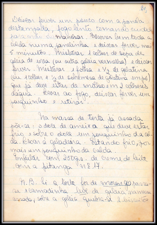 Torta de Ameixa Rainha Claudia (ou de Morangos), pagina 3