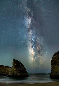 Milky Way at Shark Finn Cove