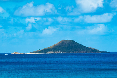 Small island off Virgin Gorda