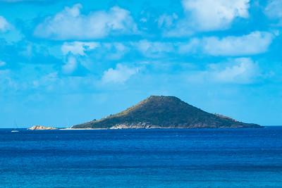 Small island off Virgin Gorda