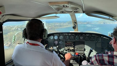 Landing at Virgin Gorda
