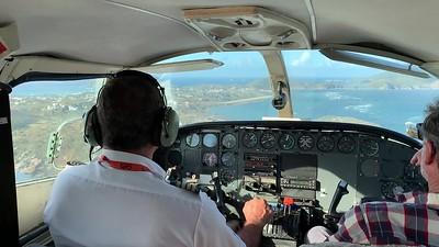 Landing at Virgin Gorda