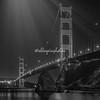 Moonbeams on the Golden Gate Bridge