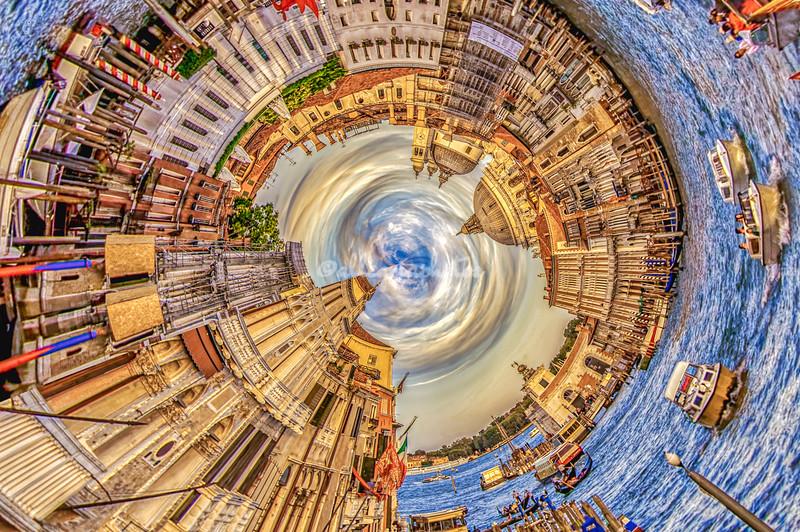 'Spiraled in Venice'.
