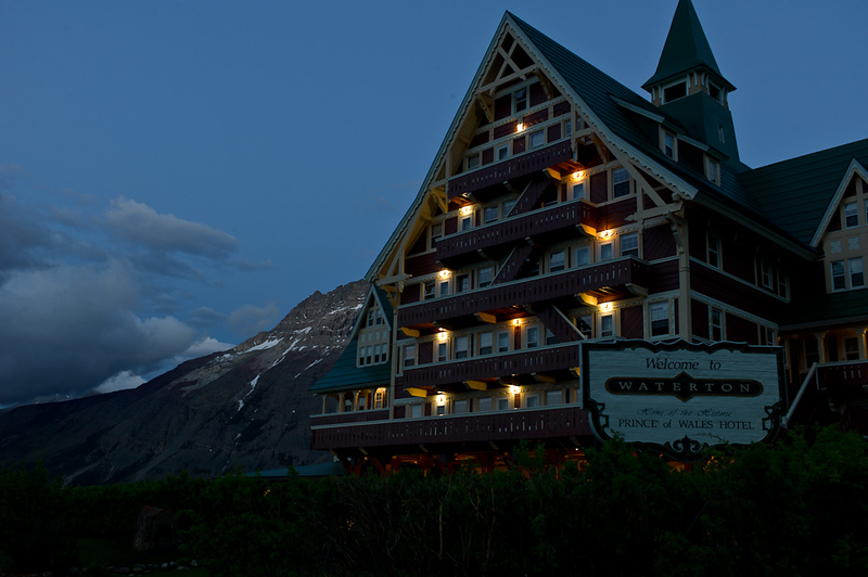 Prince of Wales Hotel, Waterton, Alberta, CD