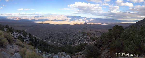"""Whitney Portal Panoramic Vista"""