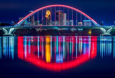 Framed in Red