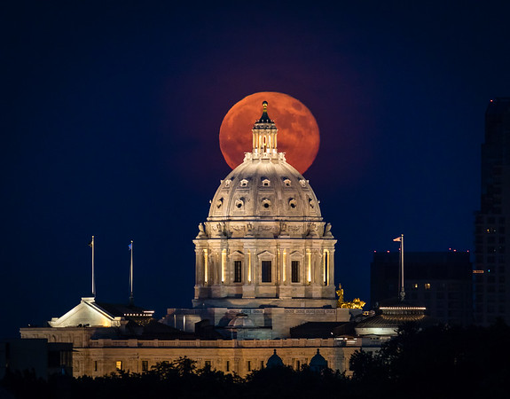 The Strawberry Moon